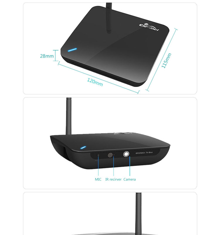 2014 New Arrival RK3288 Quad core A17 Mali-T764 2GB/8GB BT4.0 2.4GHz/5.0GHz Wifi Ultra HD 4K android tv box XBMC Player