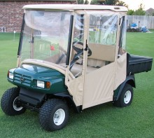 PVC waterproof golf cart rain cover