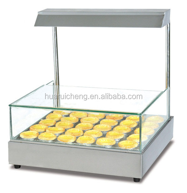 Fast food supermarket chain store food warmer display