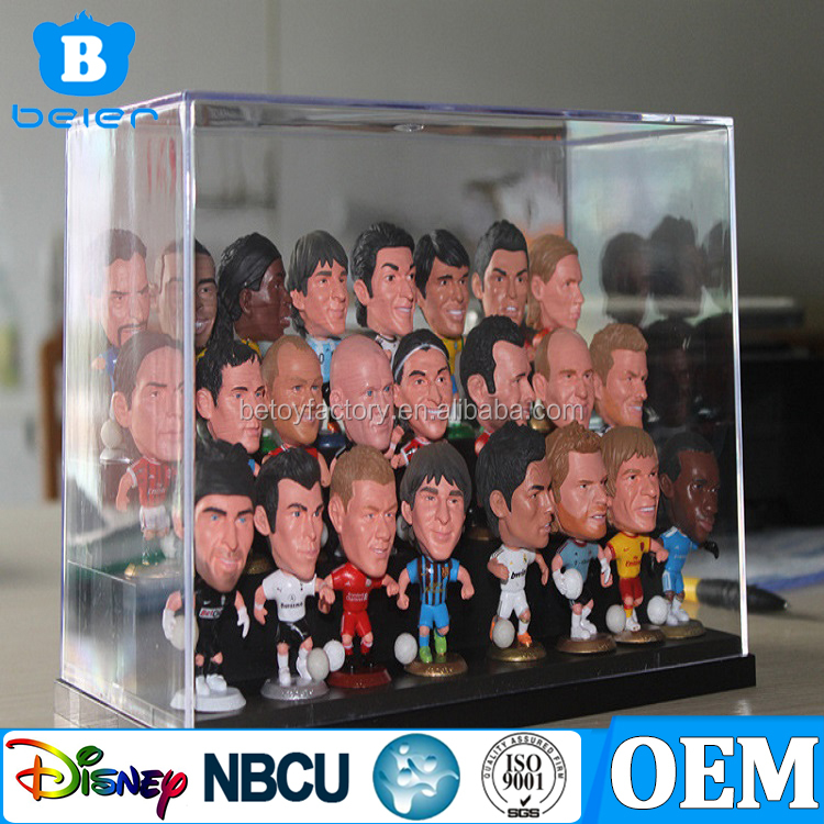 Customize Soccer Player PVC Figure Football Player Mini Plastic Figure OEM Toy and Figure Factory