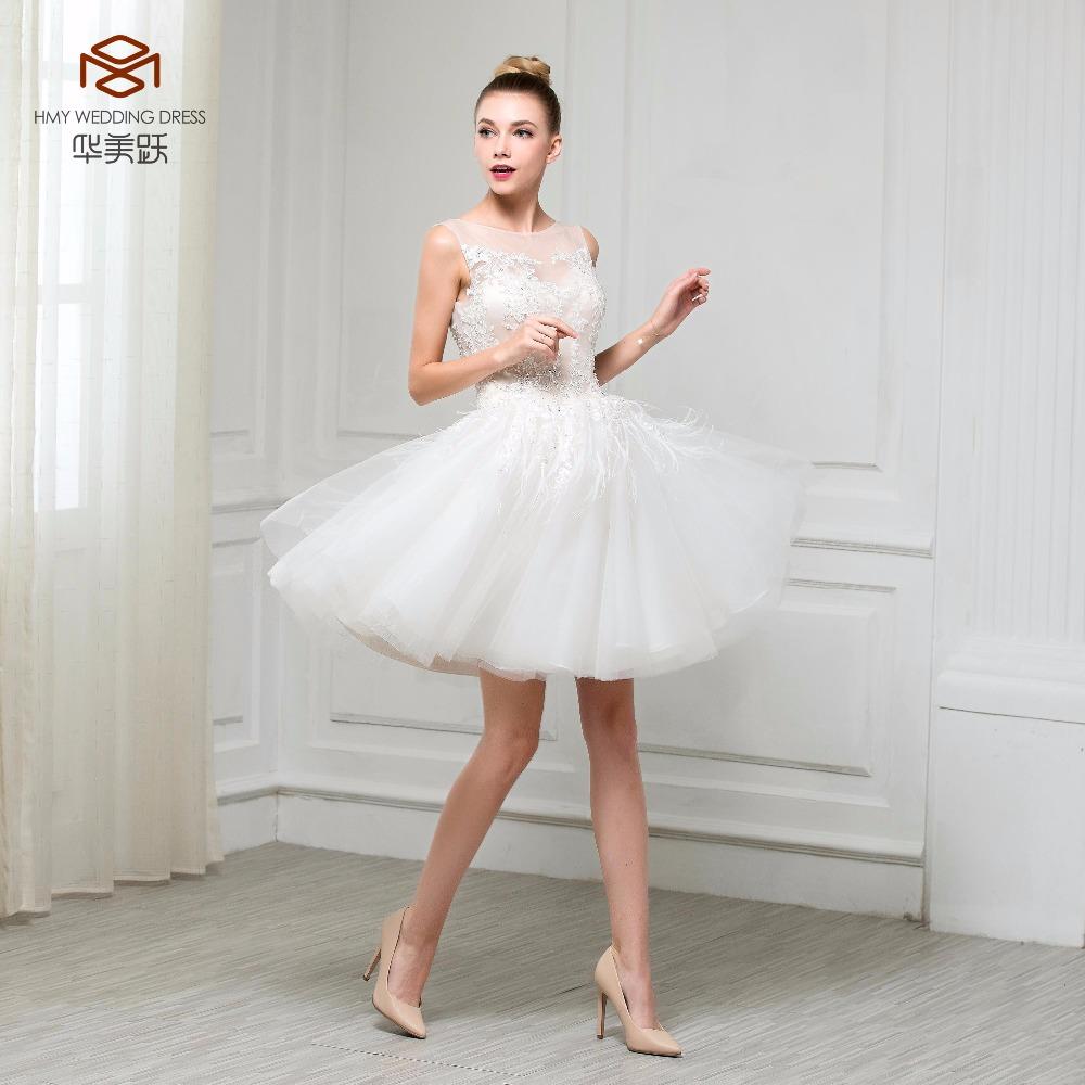 Short Skirt Wedding Dresses
