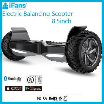 8.5inch Adult Electric Scooter With Big Wheels UL2272 CE FCC ROHS Approved Bluetooth Speaker Mobile APP included