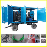 High Pressure Washing Water Jet Drain Cleaning Machine For Sale