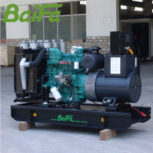 Good quality soundproof genset emergency power price silent running diesel generators used inverter for sale