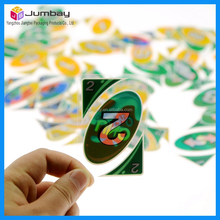 plastic uno playing cards
