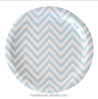 Bulk disposable charger paper plates dinner print plate