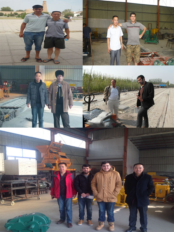 large span customized reinforced prestressing concrete hollow-core slabs machine in production concrete floor slabs