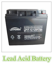 12v 17ah vrla agm ups deep cycle battery