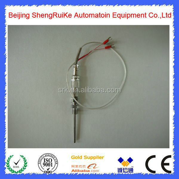 Two wires Round Plug Type Armored Thermocouple