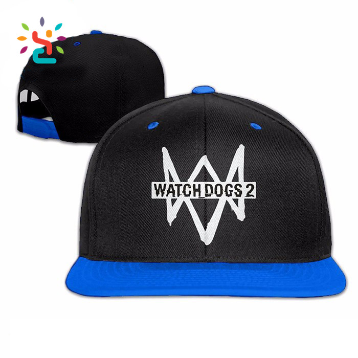 Watch dogs 2 Marcus Holloway snapback Hat Cap Headgear Dedsec Aiden Pearce cosplay snapback cap for wholesale