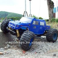 Heng Long 3851-6 1:10 Brushless 4WD Big Foot Hummer Electric Toy Car