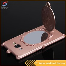 China manufacturer mirror metal case cover for samsung galaxy a8 cover