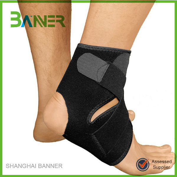 Double pressure Sports support elastic belt neoprene ankle protector