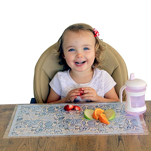 Super Strong Disposable Placemats Table Topper 60 Mats for Kids