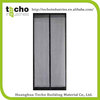 Polyester Screen magic mesh magnetic screen door curtain , polyester mesh door curtain