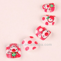 Factory Supply Cartoon kids nails christmas fashional nail tips