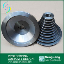 Lapping Hvof Thermal Spray Ceramic Wire Cable Cone Pulley For Drawing Machine