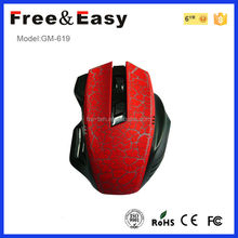 Customized logo 2.4G Slim wireless cheap Mouse