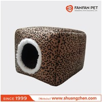 Foldable detachable soft cozy unique pet bed dog house