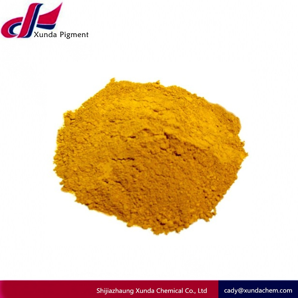 REACH red pigment powder/synthetic iron oxide yellow 313 (ci 77492) for traffic paint/concrete/rubbers/leather/colorant dye