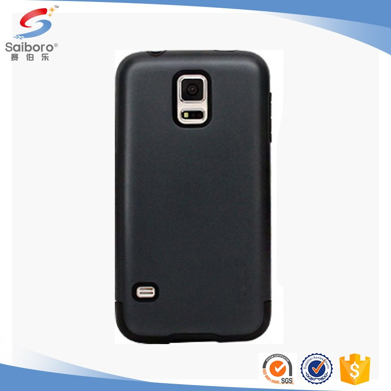 Multi-color/style TPU+PC s5 case for Samsung galaxy