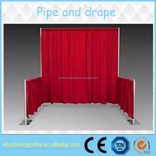 modular exhibition booth backdrop pipe and drape for wedding from SPS