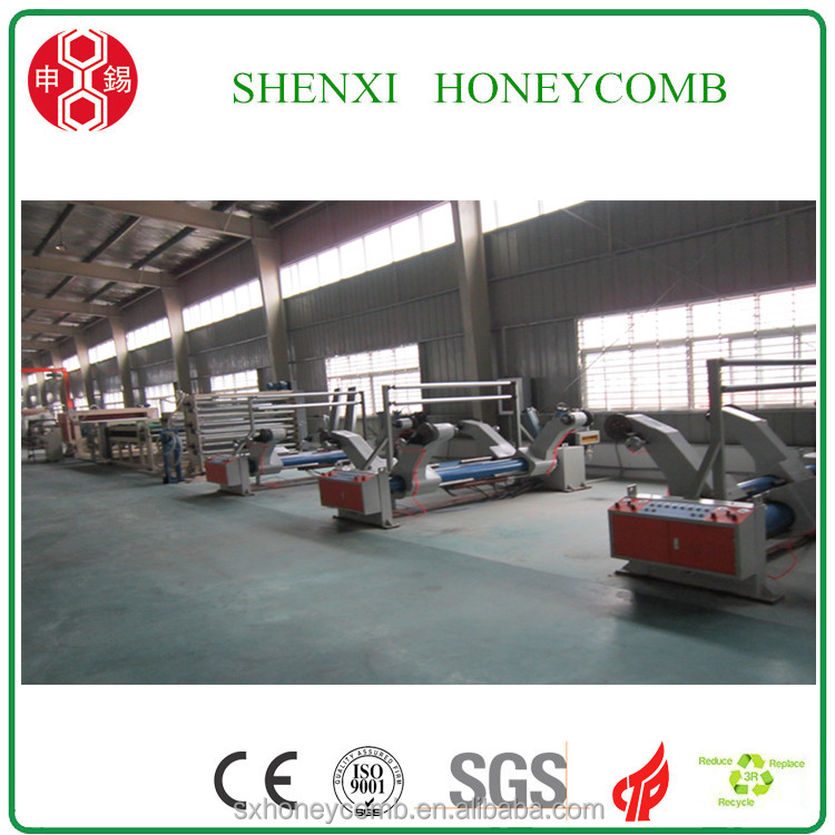 High Speed Door making honeycomb machine for paper pads