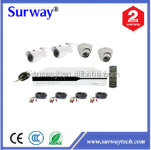 cheap cctv dvr kits 4CH DVR Kits 20 meter IR with CE,FCc,RHos Certifications,Factory supplier in China!