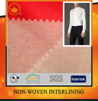 Dacron fabric fusible interlining fabric with good quality