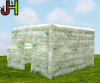 Custom Military Paintball Bunkers Inflatable Paintball Wall Airsoft Bunker for Sale