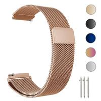 2018 High Quality Stainless Steel Watch Band 20mm 22mm Milanese Loop Mesh Bracelet Watch Strap Band for Samsung Galaxy Watch