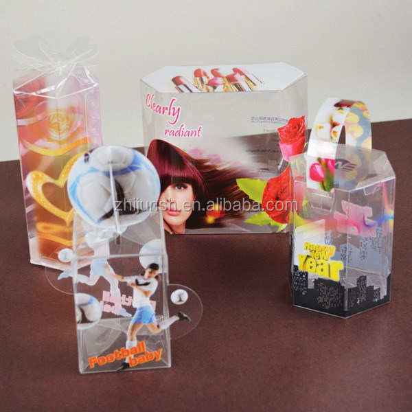 clear PET packaging box