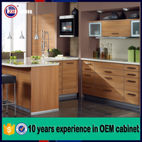American style ready made kitchen cabinet