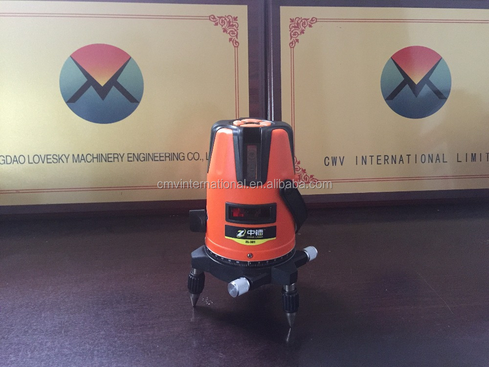 Auto leveling Red Beam Laser Level for outdoor Construction