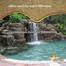 Silica sand for water filtration Size 1.18mm-2.83mm/Pure Filter Silica sand