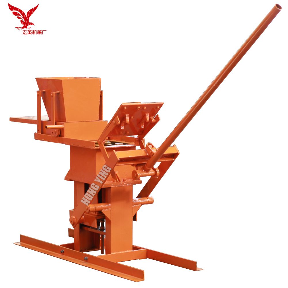 JZ-1 small scale interlocking brick making machine price