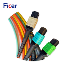 10G 40G 100G Fiber Optical Cable MPO Patch Cord for Telecommunication and Networking