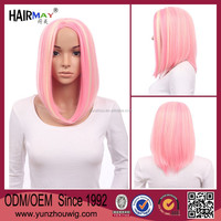 Easter party short pink wig