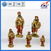 Decorative Collectable Village Town People Figurines,Polyresin Musician Player Figurine