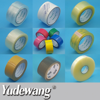professional supplier 3 inch gummed water based acrylic adhesive clear tape