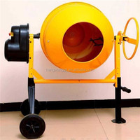 Mobile Portable Electric Diesel Concrete Mixer Cement Mixer 120L 140L 160L 180L 200L