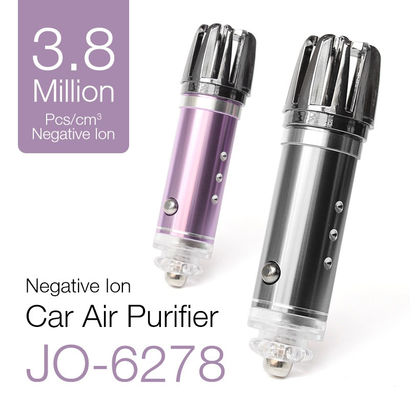 Ionkini 10th Anniversary Edition 3.8 Million Negative Ion Portable Car Air Purifier JO-6278