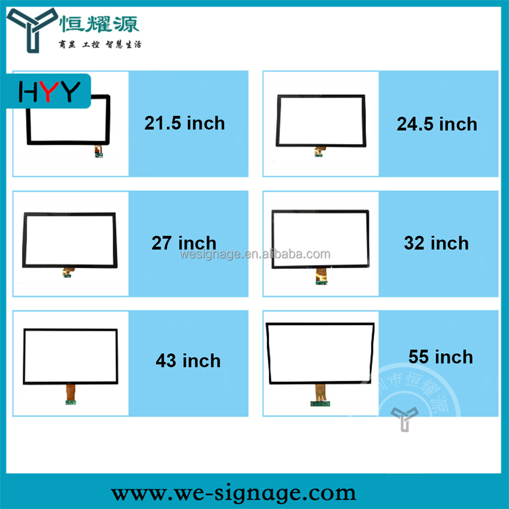 2017 Customized Factory Price High Quality USB Port LCD Capacitive Touch Panel