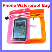 Lanyard Length 70cm Cool Waterproof Phone Bag for SONY Xperia Apple