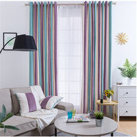 Wholesale curtain home decor sheer curtain fabric curtains for the living room