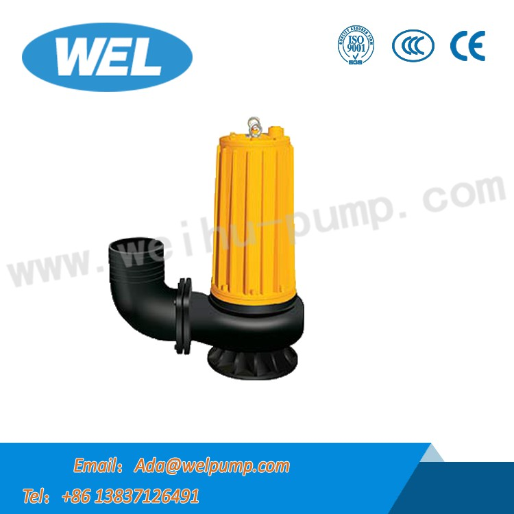 15kw Single-stage Stainless Steel Submersible Sewage Pump in Asia