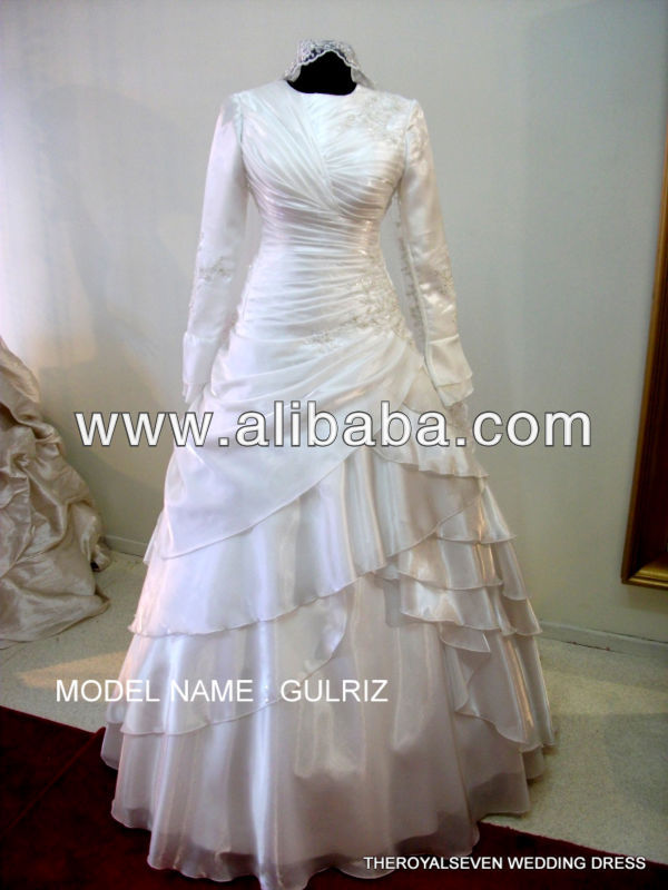 2013 MUSLIMA WEDDING DRESS