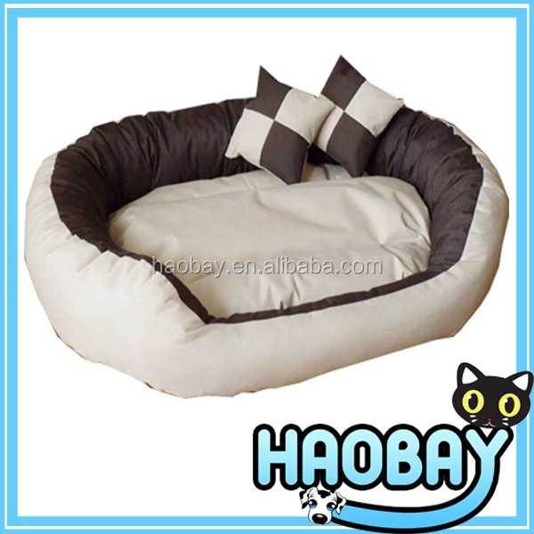 Round or Oval Shape Dimple Nesting Pet Cat Bed for Cats and Small Dogs