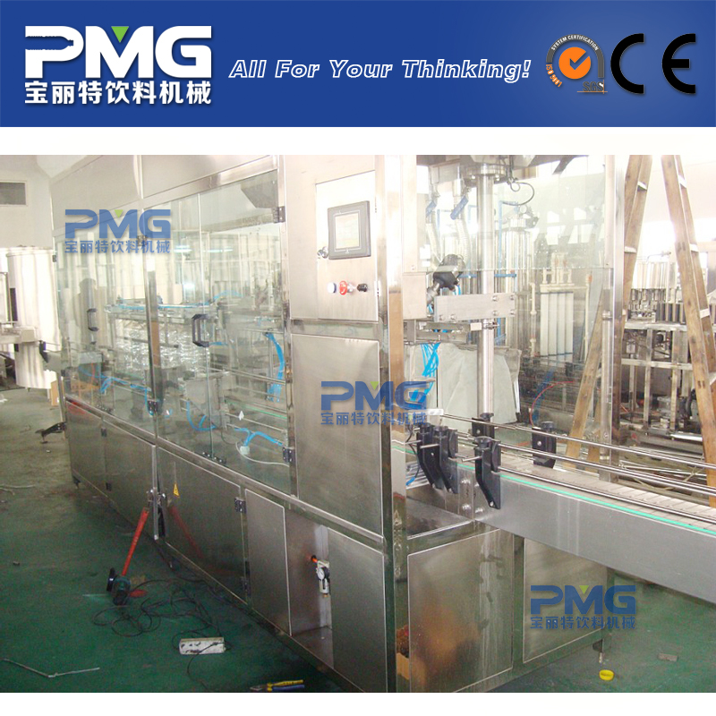 CGF 8-8-1 Automatic Pure Water Washing Filling Capping Equipment / System / Machinery