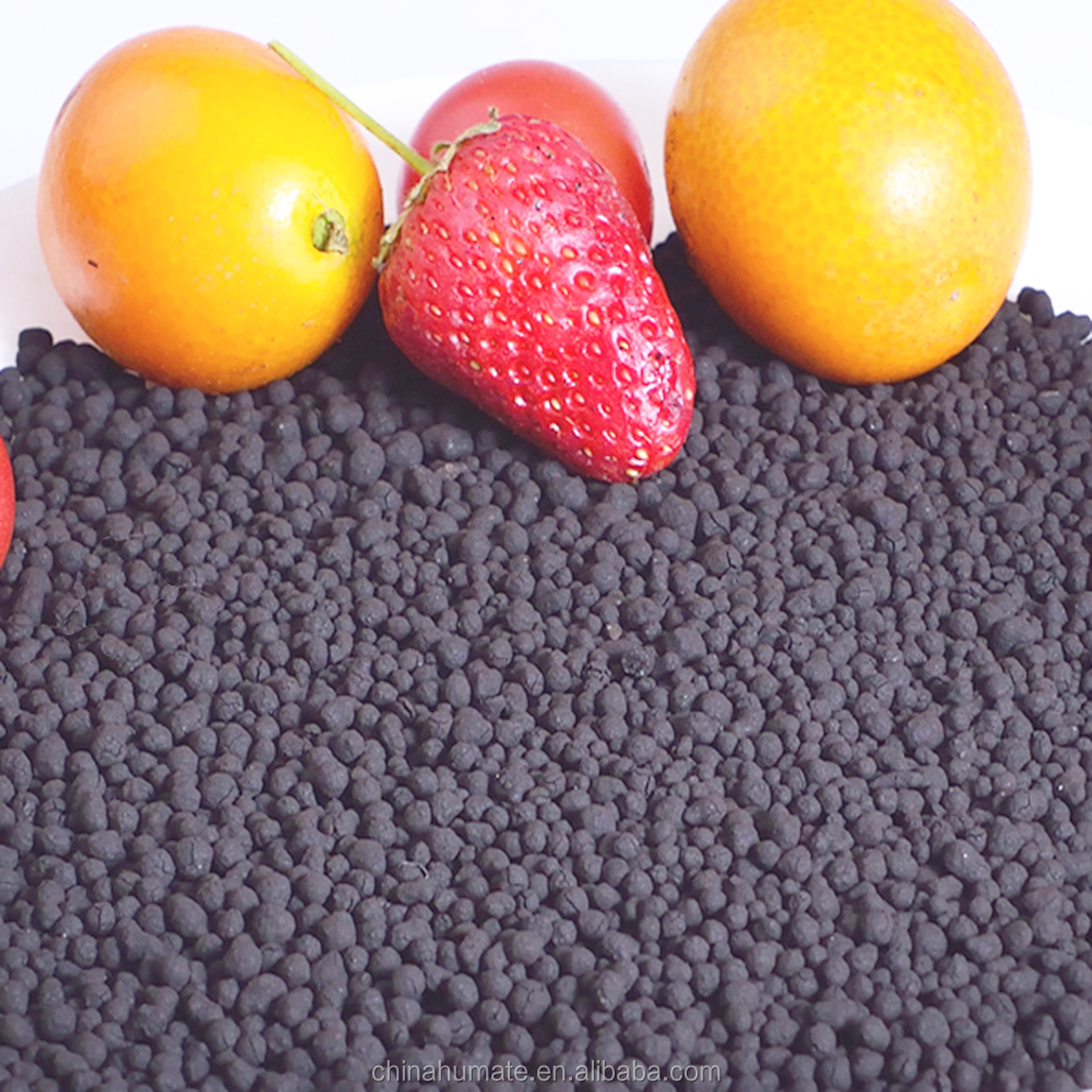 Fulvic acid and humic acid granular fertilizer used for Soil-Recondtioning